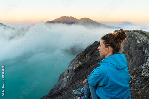 Backpacking in Asia, looking for dreamscape фототапет