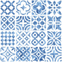 Tile Seamless Watercolor Patte...