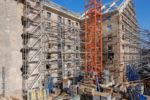 Fotografía Renovation site of  historical building Cukrarna