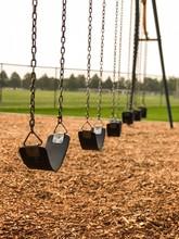 Empty Swing Set - Early Mornin...