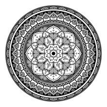 Mandala Decorative Round Ornam...