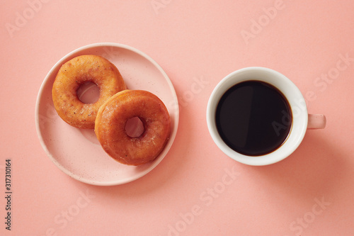 Cuadros en Lienzo Coffee and Donuts