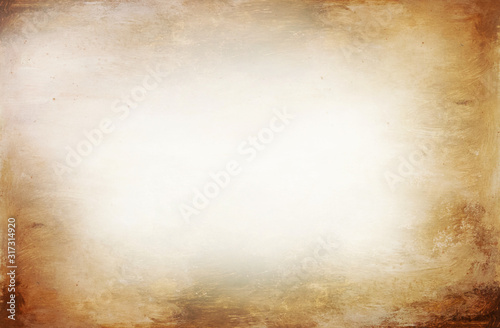 Photo Yellow brown acryl texture, album page