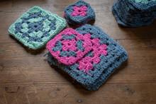 Hande Made Crochet Granny Square