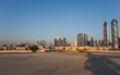 Dubai city under construction. United Arab Emirates