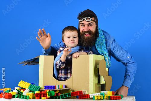 Photo Happy family game