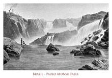 Brazil - Paulo Afonso Falls, S...