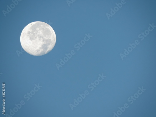 luna (desde albán)-2 Fototapet