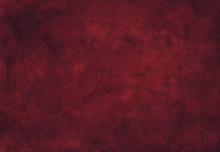 Watercolor Dark Red Texture Ba...