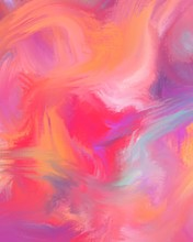 Abstract Colorful Background Of Digital Colors. The Colors Blend Beautifully And Seamlessly