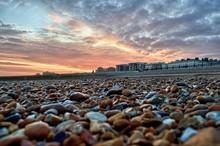 Brighton Beach Sunset Photogra...