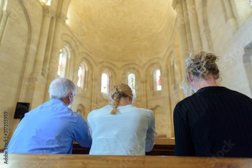 church people believe faith religious family Fototapet