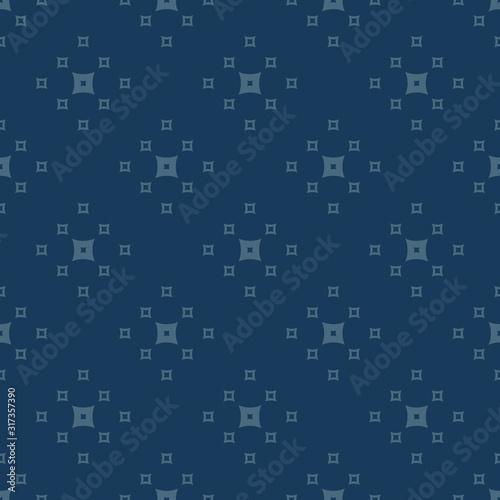 Fotografia Simple minimalist vector geometric seamless pattern with squares