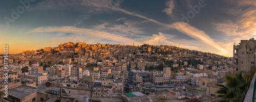 Stadtbild Amman Canvas Print