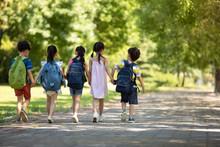 Children Going To School