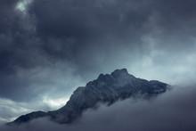Dramatic Mysterious Rocky Peak...