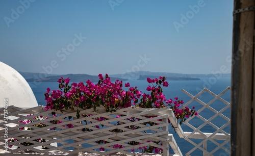 Fototapety, obrazy:  Oia village on Santorini island, Greece