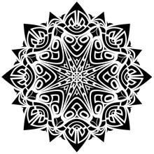Black & White Mandala 2020