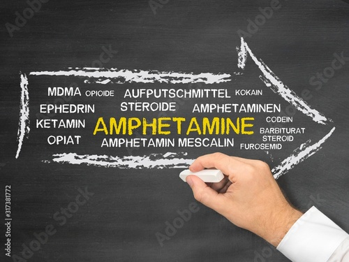 Amphetamine Wallpaper Mural
