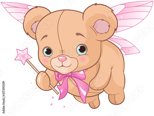 Flying Teddy Bear #317395509