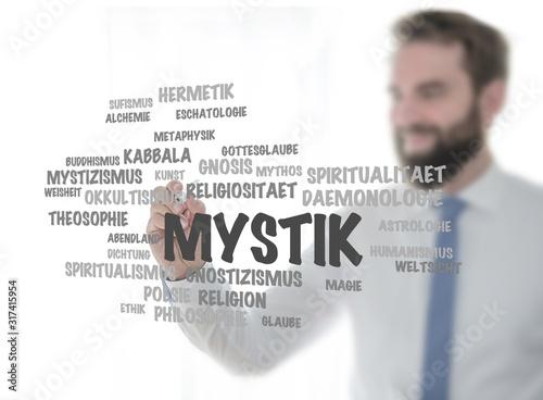 Fototapeta Mystik