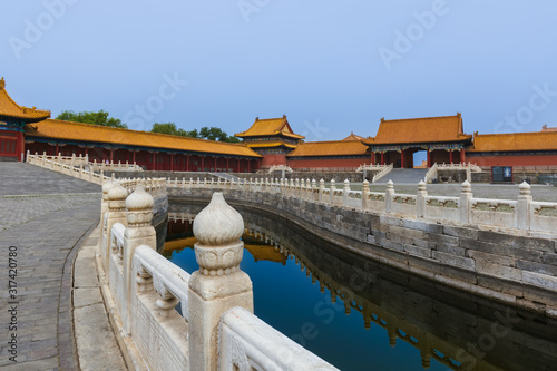 Valokuvatapetti Gugong Forbidden City Palace - Beijing China