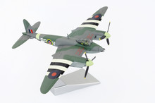 Corgi Aviation Archive Collection Die-cast Metal De Havilland Mosquito Fighter Bomber 1/72 Model Display Aircraft With D Day Black And White Stripe Markings