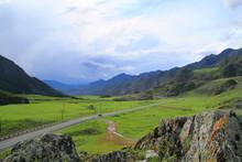 Picturesque Mountain Landscape...