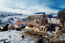 Pokryvac, Slovakia, January 2,...