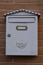 Beautiful Mailbox On The Wall
