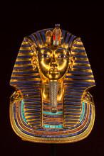 Replica Of The Tutankhamun's Funeral Mask Found In Egypt