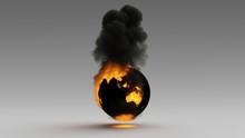 Earth On Fire Australia Asia S...