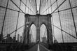 a magnificent view of Brooklyn Bridge