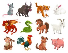 Chinese Lunar New Year Animals...