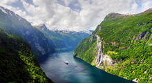 Panorama Of Breathtaking View ...