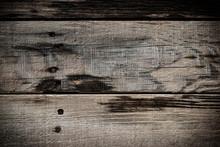 Old Wood Barn Dark Wall Textur...