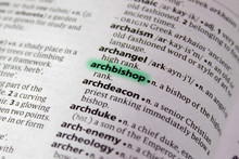Archbishop Word Or Phrase In A...