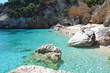 canvas print picture - Cala Goloritze Strand, Sardinien - Italien