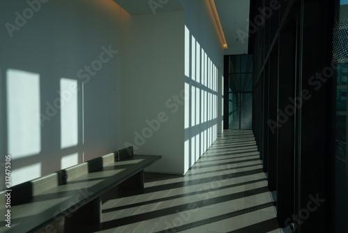美術館の窓 Canvas Print