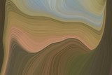 abstract flowing and fluid lines and waves canvas design with pastel brown, dark gray and rosy brown colors. art for sale. good wallpaper or canvas design - 317478982