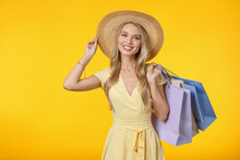 Image Of Happy Young Woman In ...