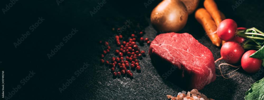 Fototapeta Steak