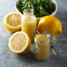 Homemade Salad Lemon Dressing