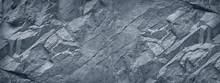 Gray Grunge Banner. Abstract S...