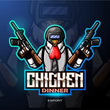 Chicken Rooster Mascot Esport ...