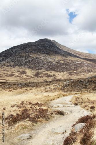 Hiking trail to Mount Goat Fell, Isle of Arran, Sotland, United Kingdom Wallpaper Mural
