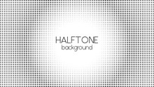 Halftone Dotted Background. Ve...