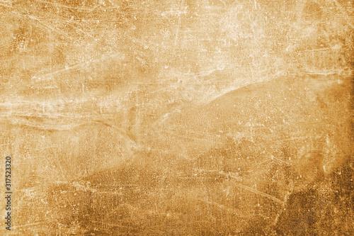 Worn, old, crumpled paper Fototapet