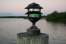 Green Dock Light