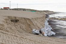 Sand Pebble Bag Against Erosio...